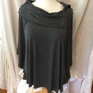 I.N. Studio Women's Top Blouse Size XL color Gray